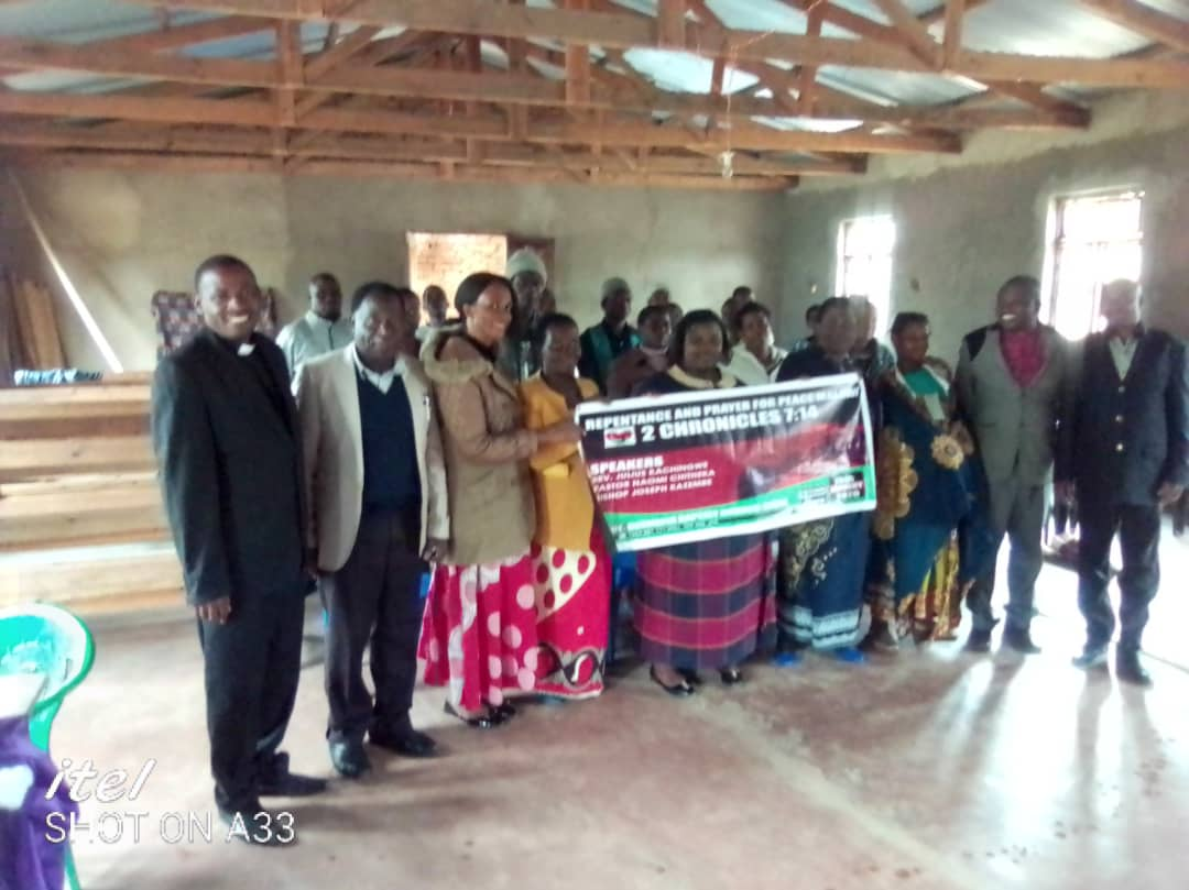 Repentance and Prayer for Peace Day Dedza - 15th of January 2020