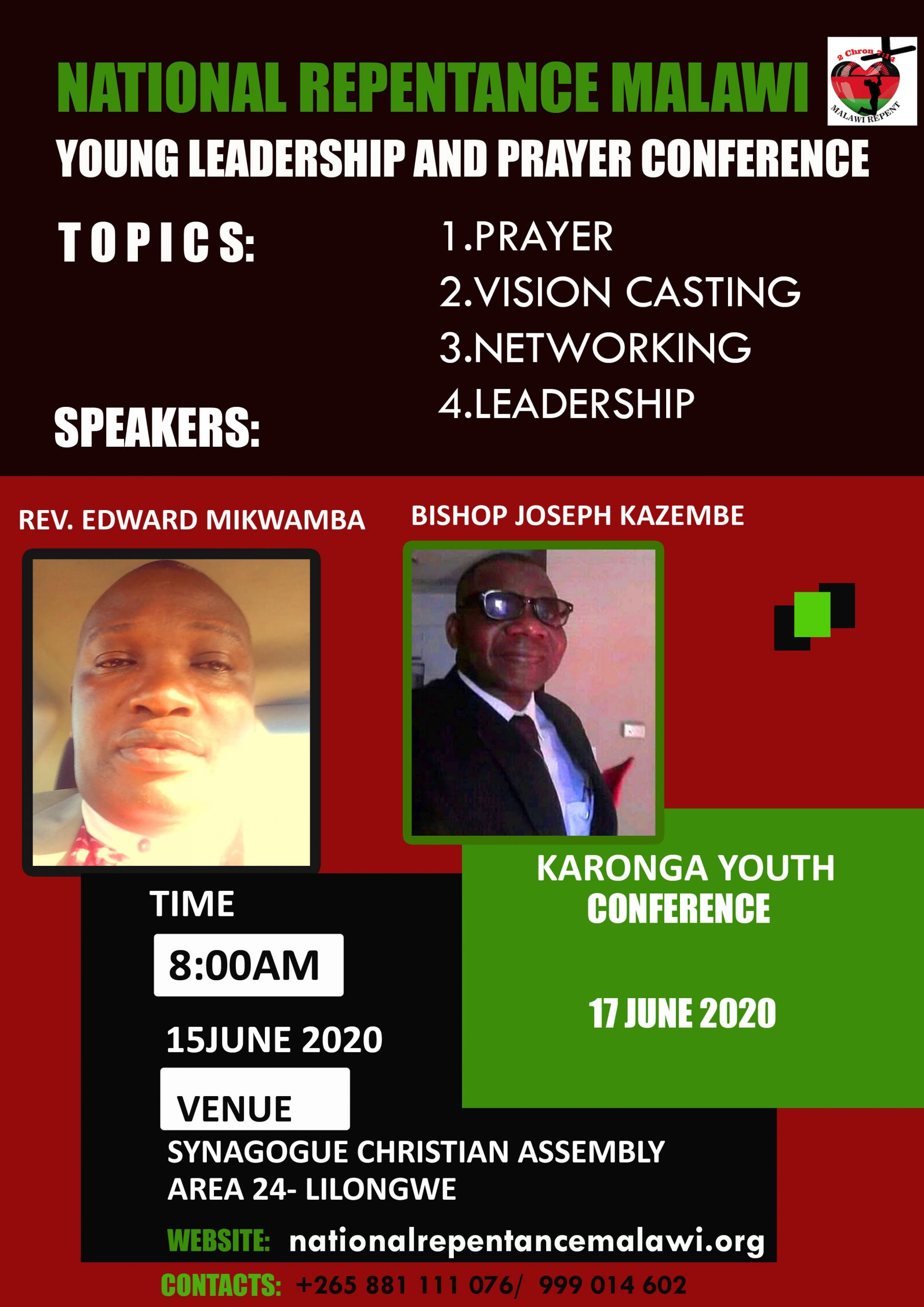 National Repentance Inter-Denominational YOUTH Conference