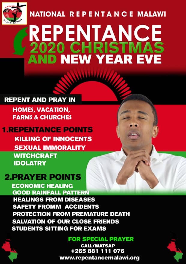Repentance 2020 CHRISTMAS and NEW YEAR's EVE